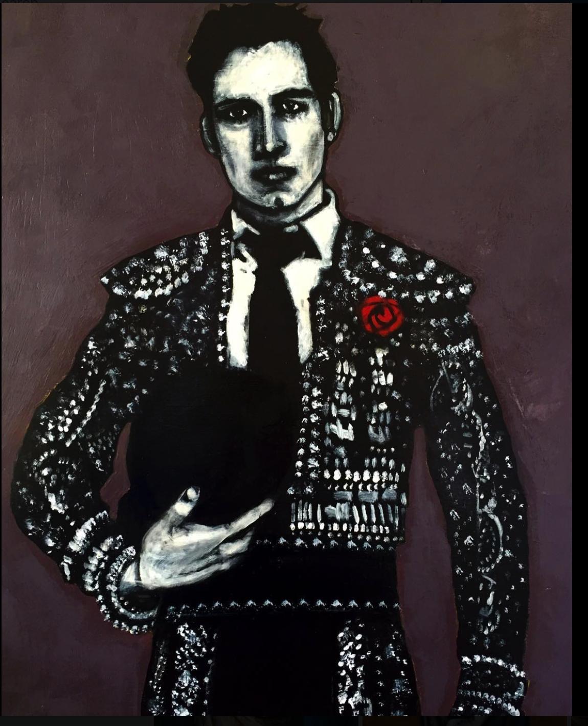 painting matador contemporary artist