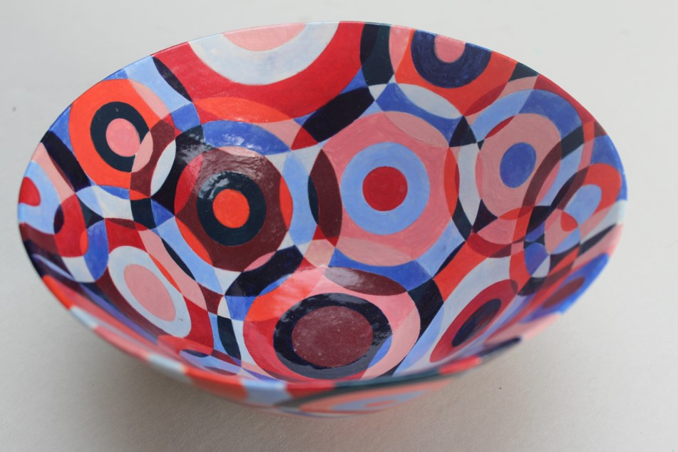 Artwork ceramics artist cake