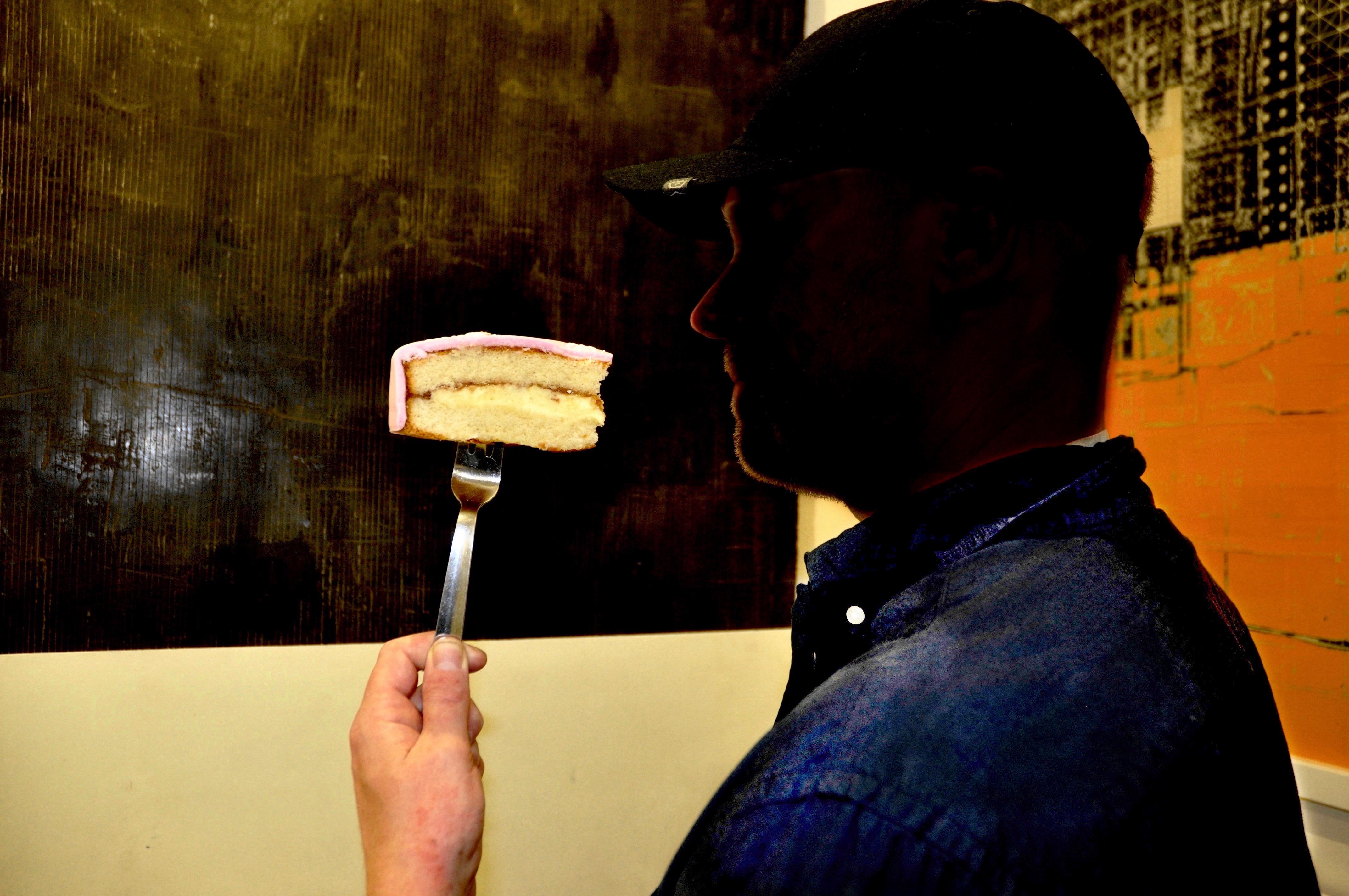 photo artist cake portrait
